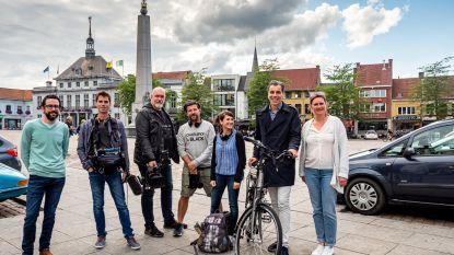 Christophe Deborsu strijkt neer in Ronse met filmploeg voor toeristisch programma