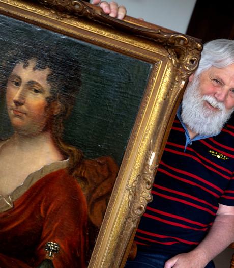 Zolderschatten: 'Mona Lisa van Zutphen' niet naar kringloop