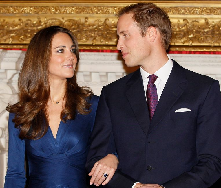 Op 16 november 2010 kondigden de Britse prins William en Kate Middleton hun verloving aan.