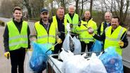 Ruim 500 vrijwilligers ruimen zwerfvuil in Ravels