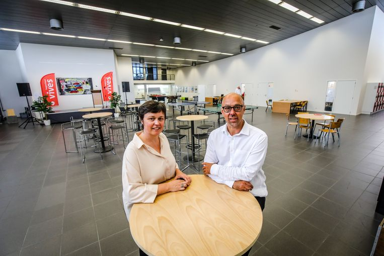 Isabel Vanslembrouck en Lieven Vandebuerie Van Vives.