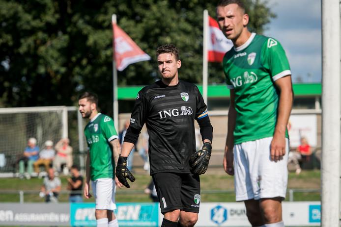 De spelers van VVOG, hier op archiefbeeld, moesten het hoofd buigen in Friesland.