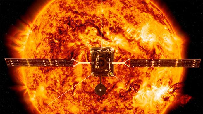 Illustration de la sonde fournie par la NASA.