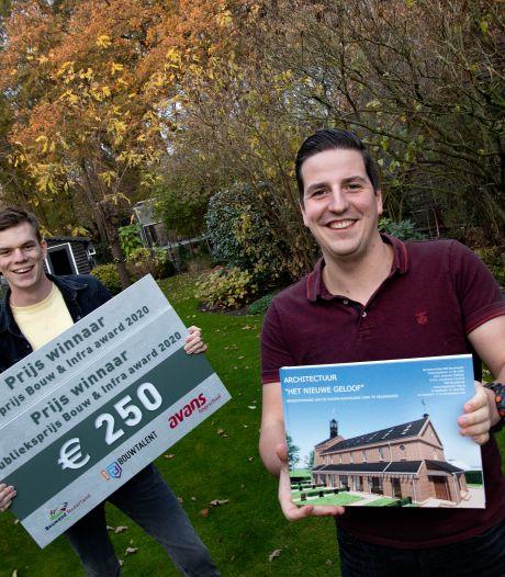 Afstudeerproject Helenaveense kerk valt in de prijzen