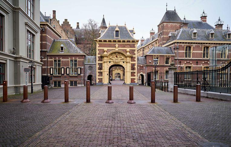 Een rustig Binnenhof.  Beeld ANP
