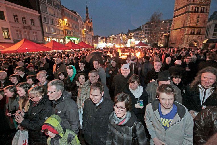 Het aantal inwoners van Kortrijk is de voorbije jaren gestegen.