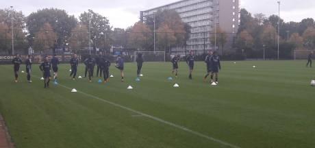 Willem II begint met veertien spelers en twee keepers aan nieuwe week