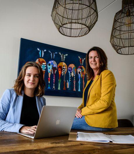 Moeder en dochter samen aan het roer in eigen bedrijf: 'Nu verlies ik mijn dochterrol'