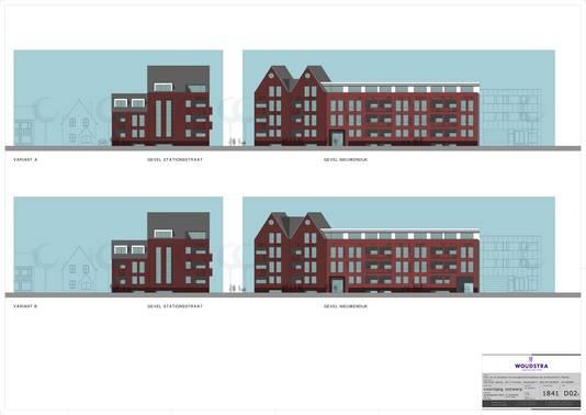 Zo komt het nieuwe appartementencomplex de Kersenhof er in grote lijnen uit te zien
