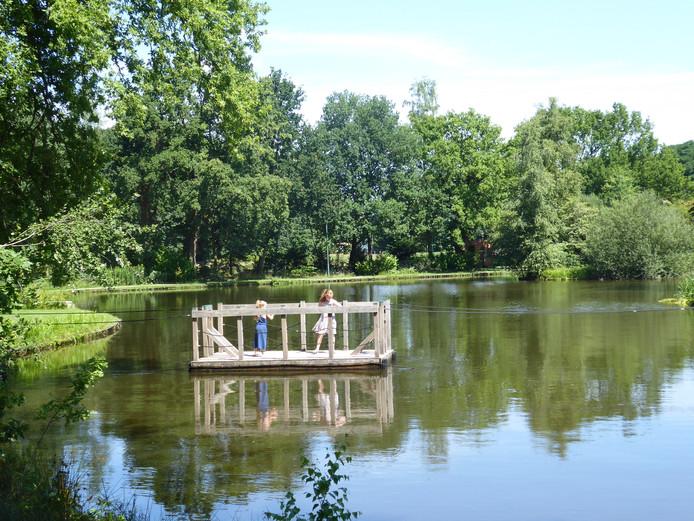 Het trekpontje recreatiepark Kienehoef Sint-Oedenrode
