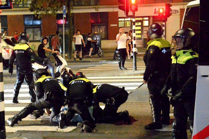 Nachtelijke ongeregeldheden in Schilderswijk