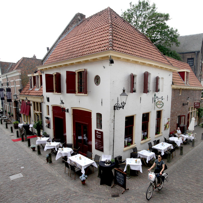 Archieffoto van Restaurant Boas in Deventer, in 2012 nog verkozen tot fijnste Franse restaurant van Nederland. De zaak is failliet. Volgens curator Paul Schepel is de zaak het eerste financiële slachtoffer van de coronacrisis.