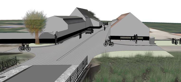 Dammesteenweg in Damme krijgt nieuw uitzicht