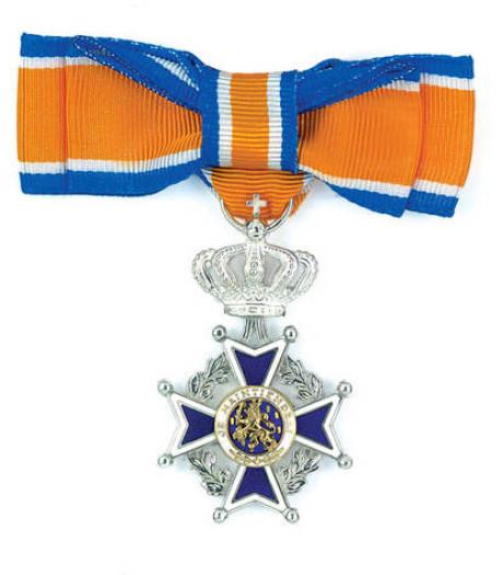 Koninklijke onderscheiding voor Hans Reijnen uit Nijkerk
