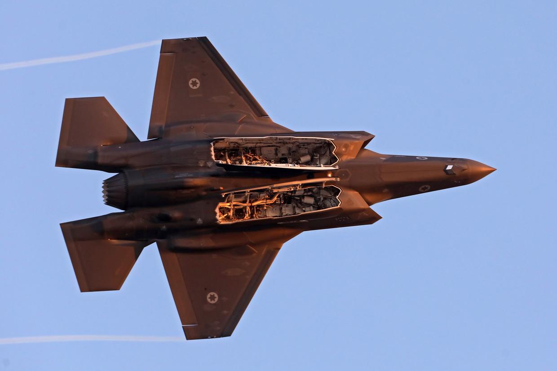 Een F-35 in actie. Beeld EPA