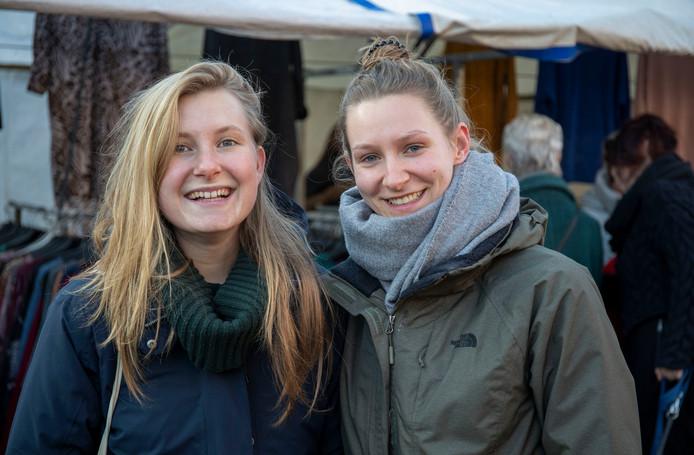 Lynn van Werkhoven (links) en Britt Kriesch.