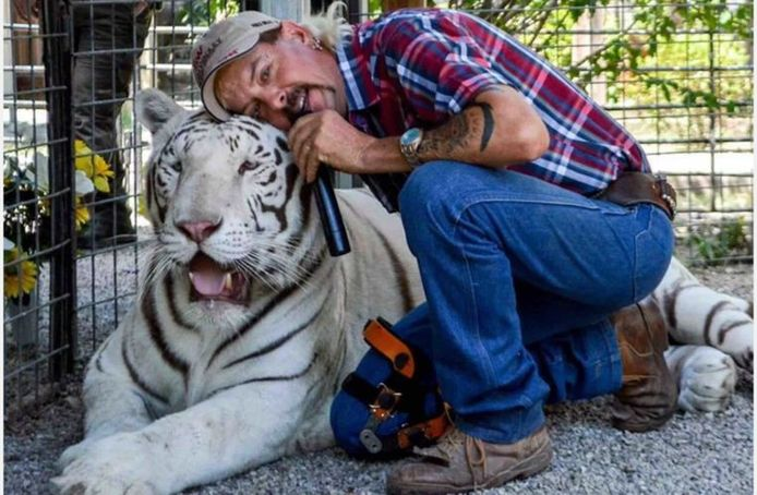 Joe Exotic in Tiger King.