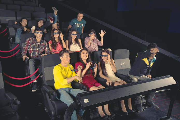 Een 4DX theater in Vietnam.