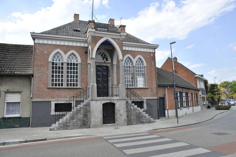 Het oude gemeentehuis van Wuustwezel.