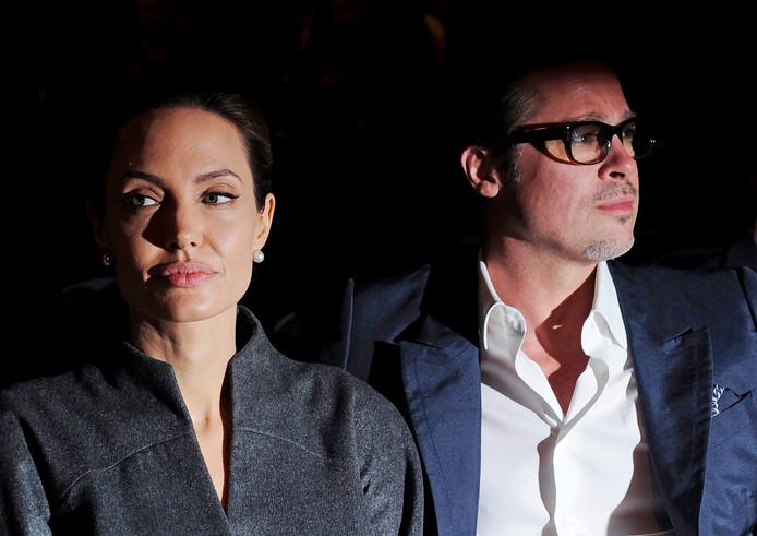 Angelina Jolie en Brad Pitt in 2014