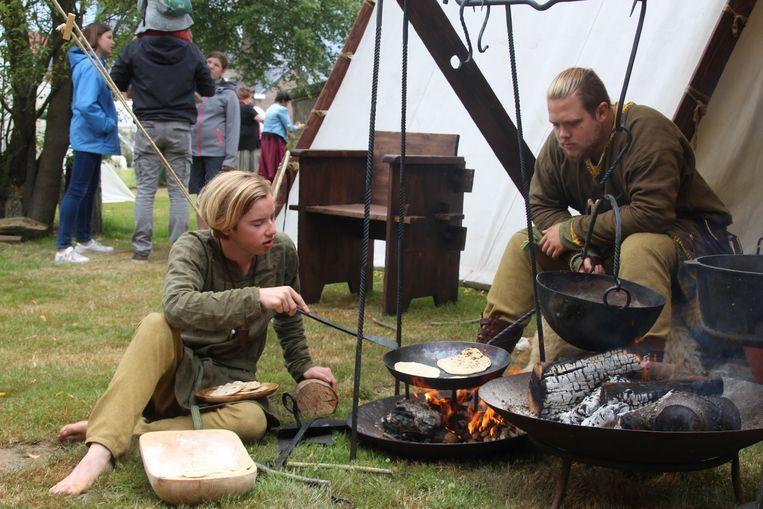 Een illustratiebeeld. De blikvanger wordt het vikingdorp op het Workshopfestival