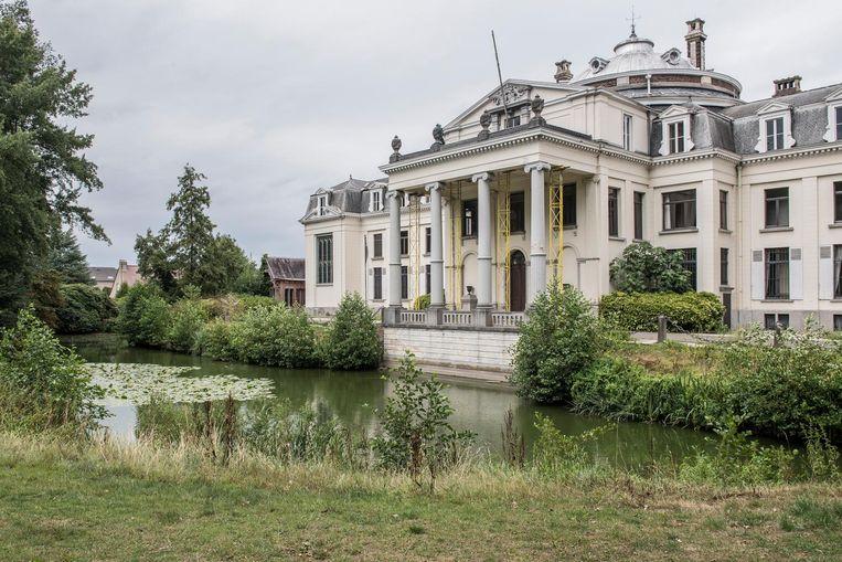 Het park dat bij het kasteel Blauwhuis hoort, is intussen al opengesteld voor het grote publiek.