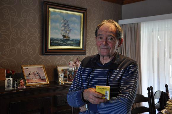 Werner Van de Voorde (78) kan ook na maart zijn geneesmiddel Marevan kopen in België.