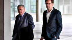 LIVE. Joris Van Cauter, advocaat ouders Tine Nys, vervangt Keuleneer op euthanasieproces