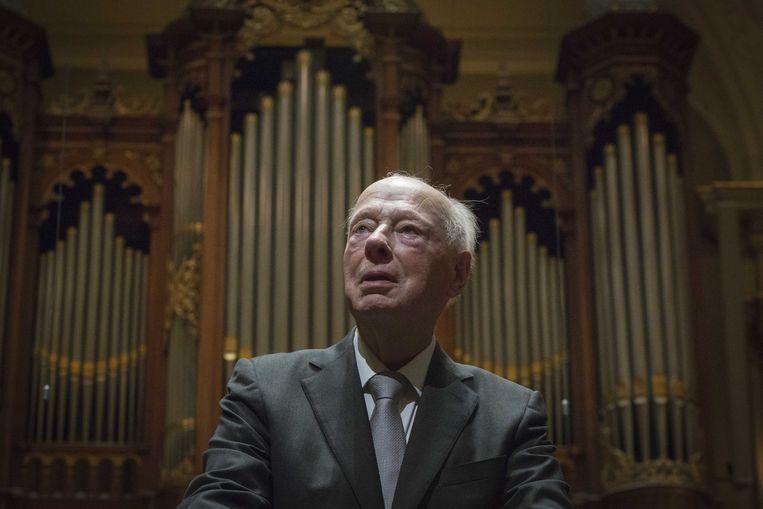 Dirigent Bernard Haitink na zijn laatste concert in Nederland. Beeld ANP