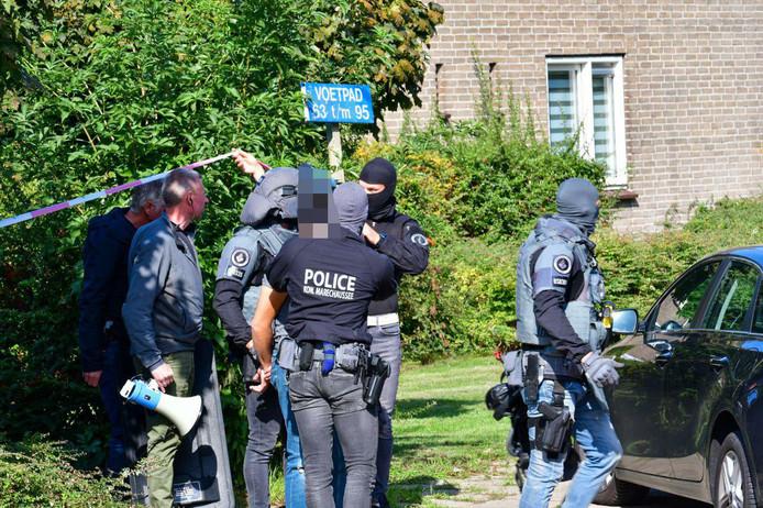 De arrestatie in Arnhem.
