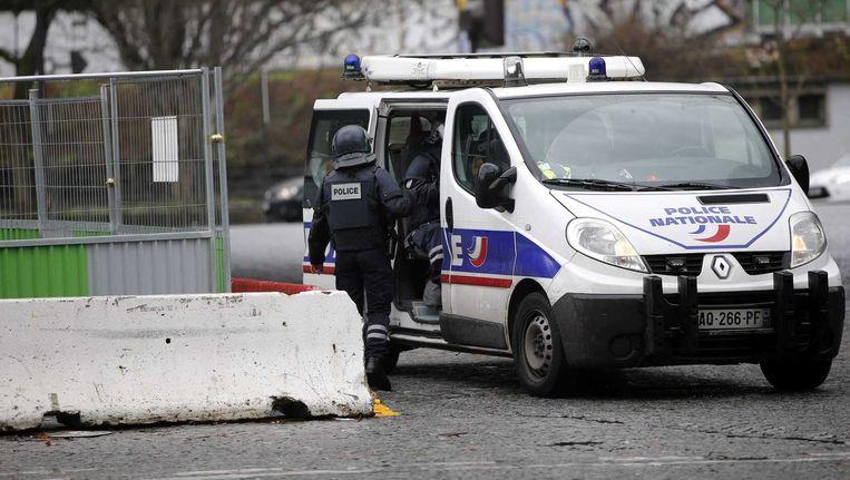 Politie in Crépy-en-Valois.