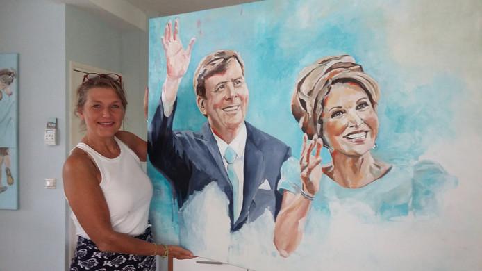 Karen de Bondt heeft ervoor gezorgd dat werk van Gerard Menken te zien is tijdens de 16de editie van KunstKiezelKlei.