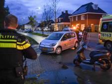 Scooterrijder gewond, politie doet onderzoek