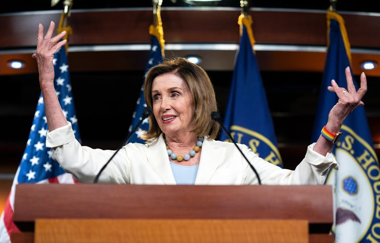 Speaker of the House Nancy Pelosi is tegen impeachment.
