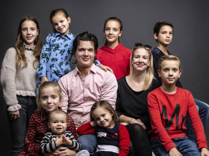 Familie Nagelkerke: 8 kinderen, 2 fulltime werkende ouders