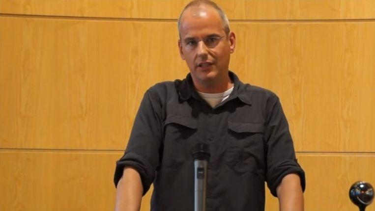 Haags raadslid Arnoud van Doorn. Beeld YouTube