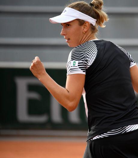 Elise Mertens se qualifie facilement pour le troisième tour de Roland-Garros