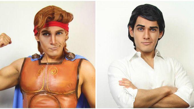 Met deze kerel haal je alle Disneyprinsen tegelijk in huis