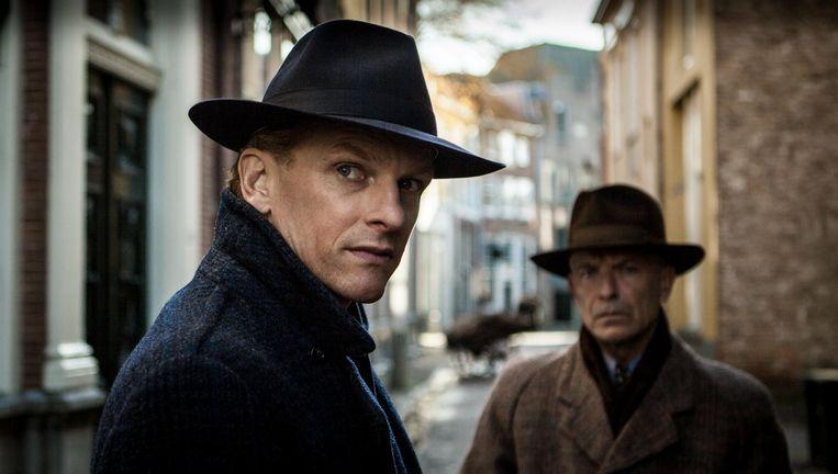 Barry Atsma speelt hoofdpersoon Walraven van Hall in het Bankier van het Verzet, vanaf 8 maart te zien in de bioscopen. Beeld
