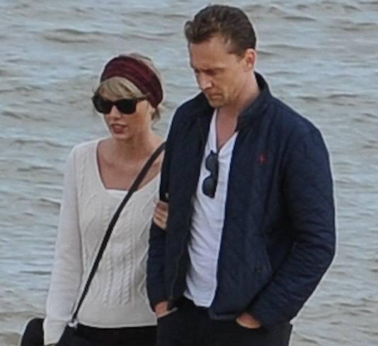 Taylor en haar nieuwe vriend Tom Hiddleston.