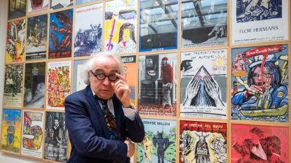 Adriaan Raemdonck toont 50 jaar Galerie De Zwarte Panter in expo