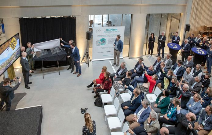 De start van One Planet, gisteren in Wageningen
