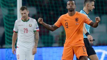 EK KWALIFICATIES. Oranje zo goed als zeker na heerlijke knal Wijnaldum  - Rusland na 0-5 in Cyprus helemaal zeker