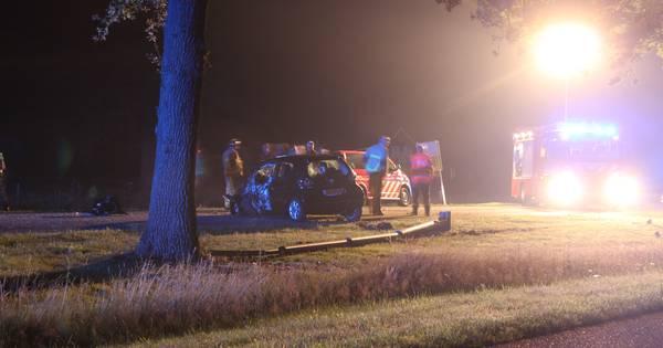 Vrouw raakt ernstig gewond bij ongeval in Goor.
