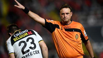 Alle refs slagen voor fysieke test, behalve Frederik Geldhof