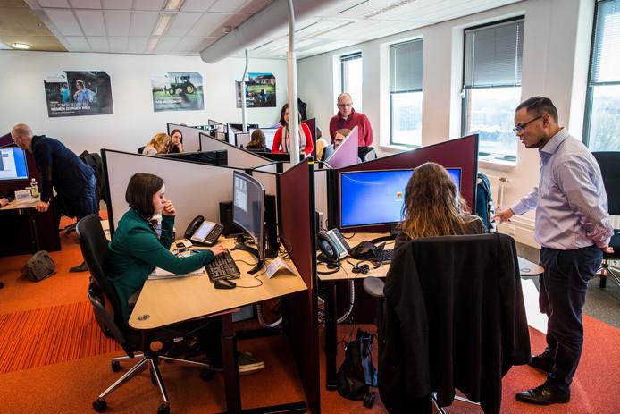 Het nieuwe schadeloket van de Tijdelijke Commissie Mijnbouwschade Groningen.