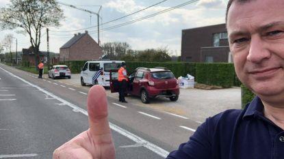 """""""Ik doe niet mee aan dat coronagezever"""": burgemeester krijgt wat te horen tijdens politiecontroles in Glabbeek"""