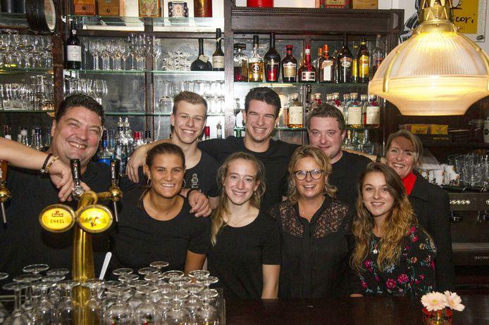 Het team van Café De Dikke.