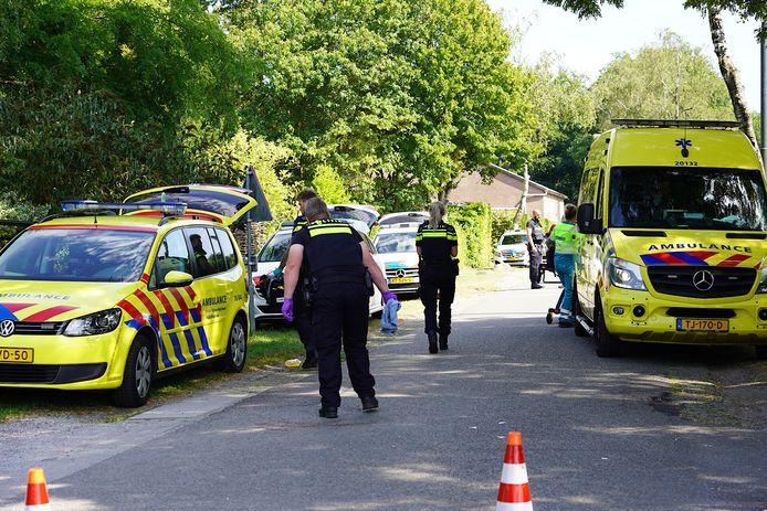 Mountainbiker ernstig gewond door aanrijding in Oosterhout.