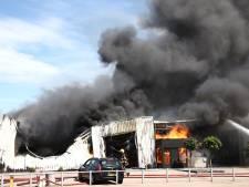 Grote brand op industrieterrein in Culemborg is onder controle